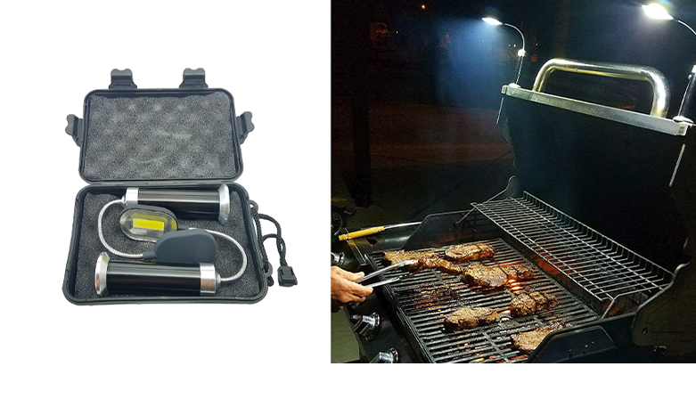 Bright Eyes Magnetic BBQ Light Set